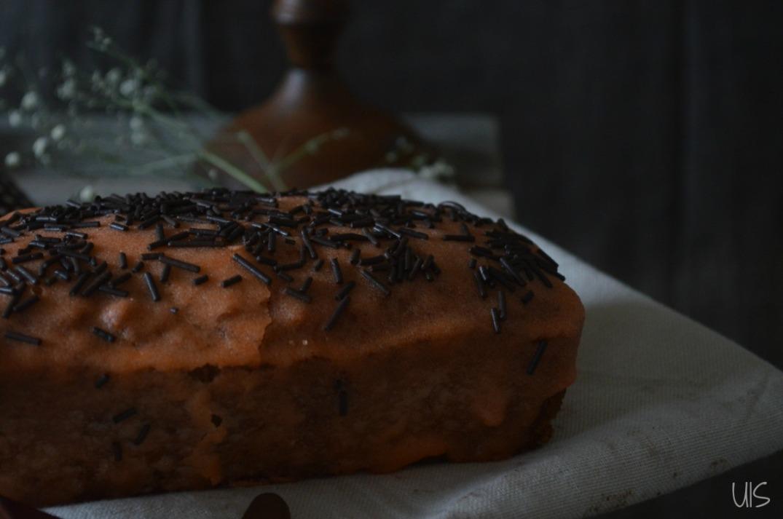 Bizcocho de zanahorias y harina de teff