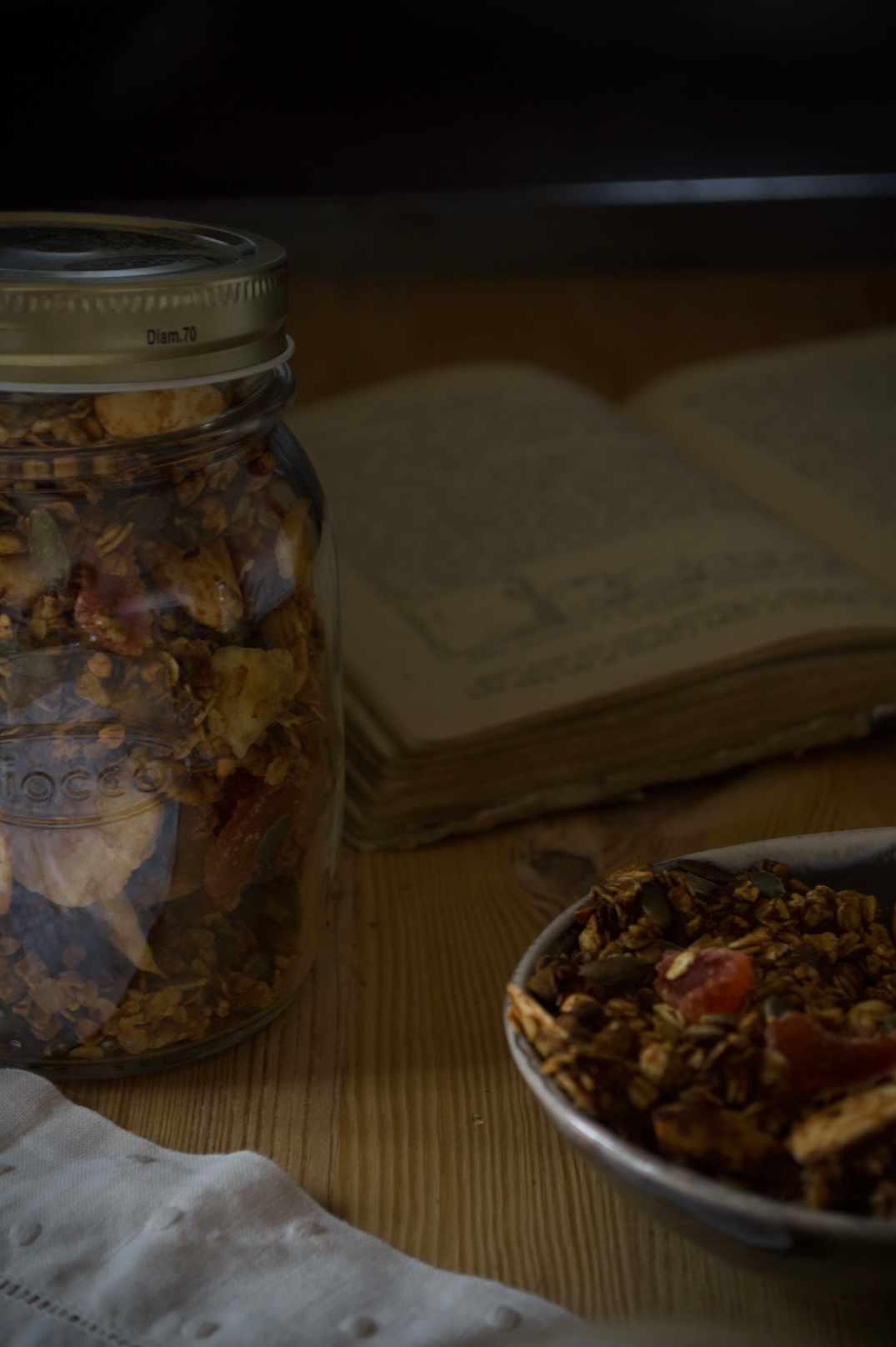 granola crunch de avena y trigo sarraceno