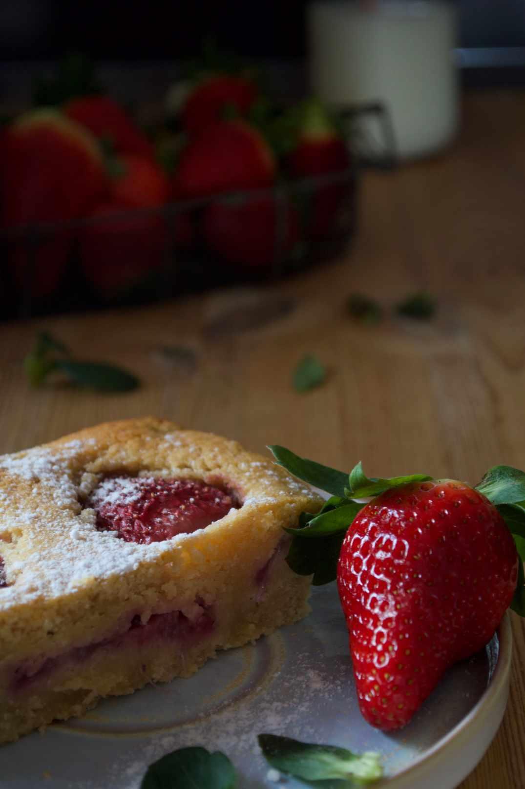 La mejor tarta de fresas para San Valentín